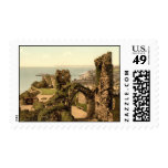 Hastings Castle, Hastings, Sussex, England Postage Stamps