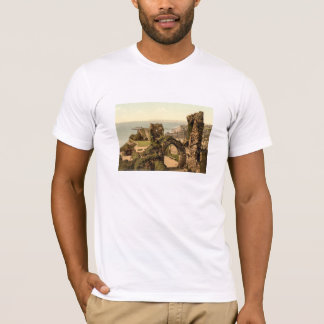 Hastings Castle, Hastings, Sussex, England T-Shirt