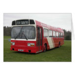 Hastings & District Leyland National Greeting Card