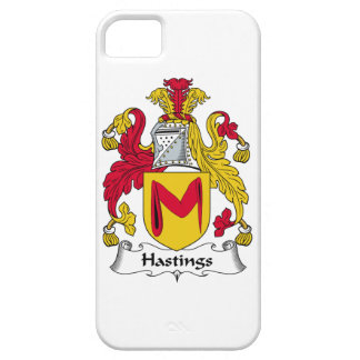Hastings Family Crest iPhone 5 Cover
