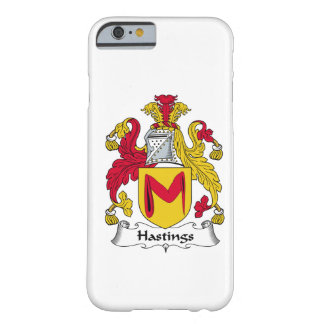 Hastings Family Crest iPhone 6 Case