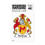 Hastings Family Crest Postage