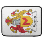 Hastings Family Crest Sleeves For MacBook Pro
