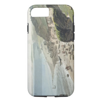 Hastings, from the East Cliff, from 'A Voyage Arou iPhone 8/7 Case