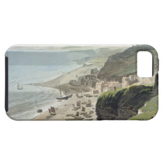 Hastings, from the East Cliff, from 'A Voyage Arou iPhone SE/5/5s Case