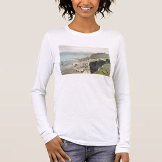 Hastings, from the East Cliff, from 'A Voyage Arou Long Sleeve T-Shirt