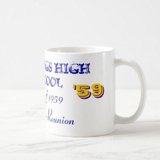 HASTINGS HIGH SCHOOL, Class of 1959 Classic White Coffee Mug