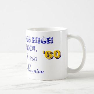 HASTINGS HIGH SCHOOL, Class of 1960 Classic White Coffee Mug