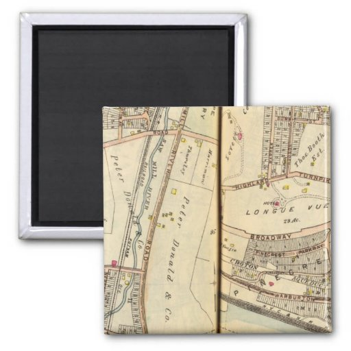 Hastings, New  York 2 Inch Square Magnet
