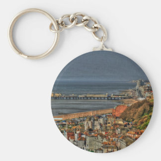 Hastings Old Town & Pier Keychain