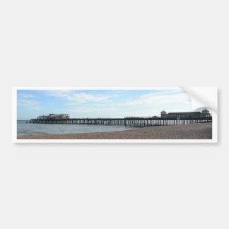 Hastings Pier Bumper Sticker