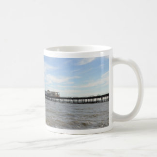 Hastings Pier From The Beach Coffee Mug