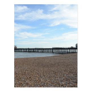 Hastings Pier Postcard