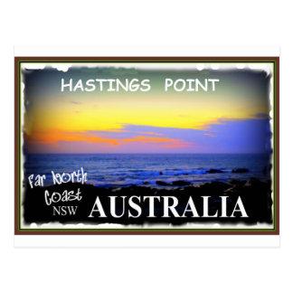 HASTINGS POINT POSTCARD