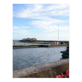 Hastings Seafront And Pier Postcard