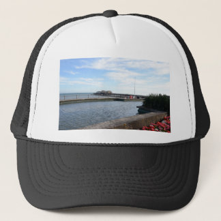 Hastings Seafront And Pier Trucker Hat