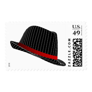 hat-158569 GANGSTER STYLE HATS FASHION BLACK WHITE Postage