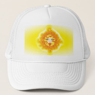 Hat abstract sun
