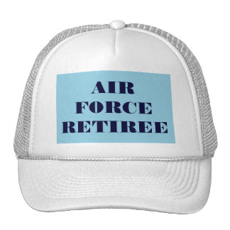 Hat Air Force Retiree