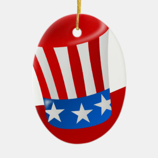 hat america uncle sam uncle sam hat christmas tree ornament