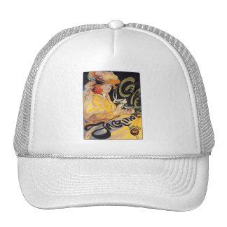Hat: Art Nouveau Café Trucker Hat