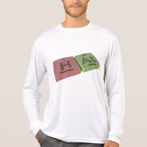 Hat as H Hydrogen and At Astatine Tee Shirt
