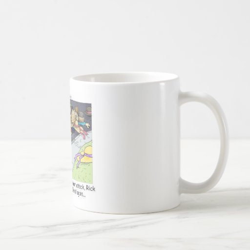 Hat Attack Funny Gifts Tees & Collectibles Classic White Coffee Mug