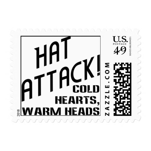 HAT ATTACK! Postage