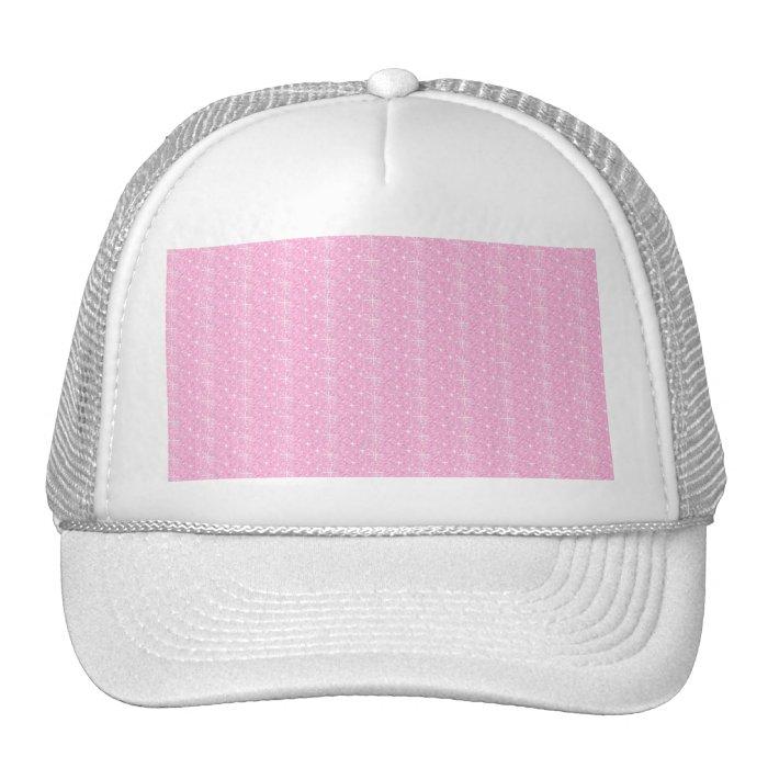 Hat Baby Pink Glitter