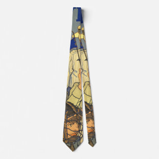 Hat-Band Advertising Poster 1910 Tie