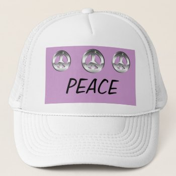Hat    Baseball        Cap    Customize  Peace by creativeconceptss at Zazzle