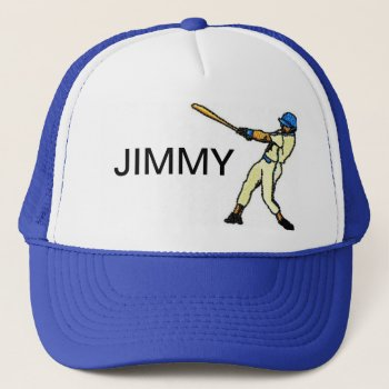 Hat    Baseball  Customize  W/name by creativeconceptss at Zazzle