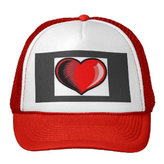 HAT    BASEBALL  CUSTOMIZE  W/NAME     HEART