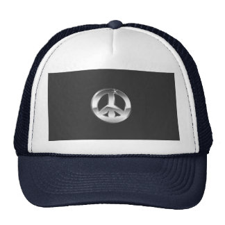 HAT    BASEBALL  CUSTOMIZE  W/NAME     PEACE SIGN