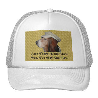 Hat Basset Hound Been There, Done That