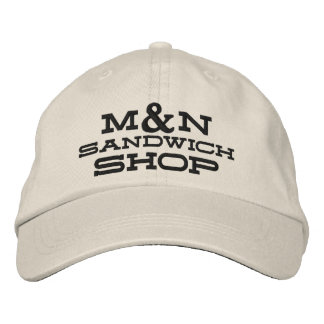Hat - (Black Letters) M&N Knit Design 1