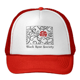 Hat Black Rose Society | Heartblaze