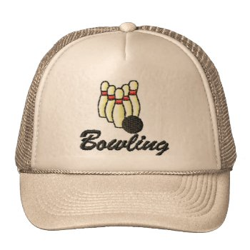 Hat Bowling Customize by creativeconceptss at Zazzle