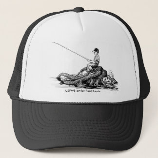 Hat / Boy Fishing