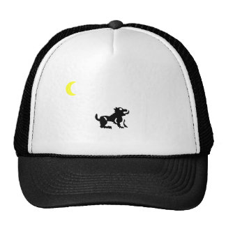 Hat cap  A Beast and the moon