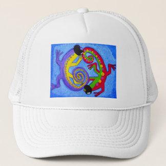 Hat - Cap- Cool Blue Lizards