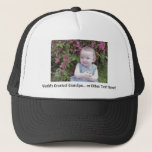 "*HAT/CAP: Customize that perfect gift! Trucker Hat<br><div class=""desc"">You can replace the photo of your baby (or babies) and create a one-of-a-kind gift! You can replace or delete or add text boxes. Even change the font!</div>"