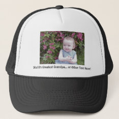 *hat/cap: Customize That Perfect Gift! Trucker Hat at Zazzle