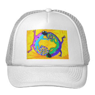 Hat - Cap- Groovy Tropical Lizards