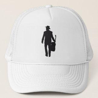 hat - cap guitarist silhouette