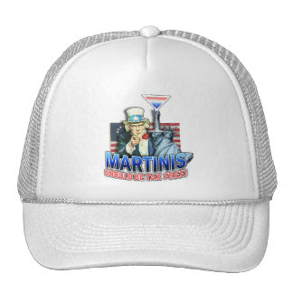 Hat, Cap - Martinis Should Be Tax Free