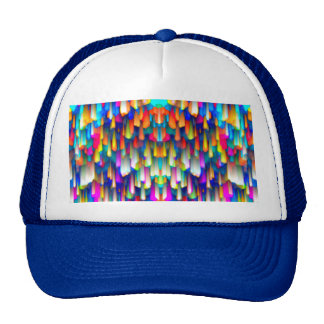 Hat Colorful digital art splashing
