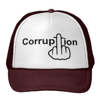 Hat Corruption Sucks