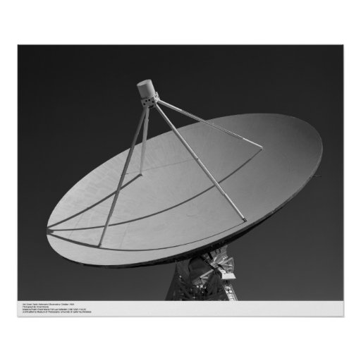 Hat Creek Radio Astronomy Observatory Poster