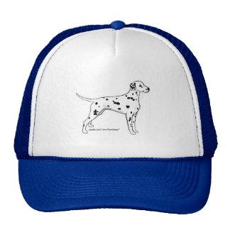 Hat: Dalmatian (Black Spotted)